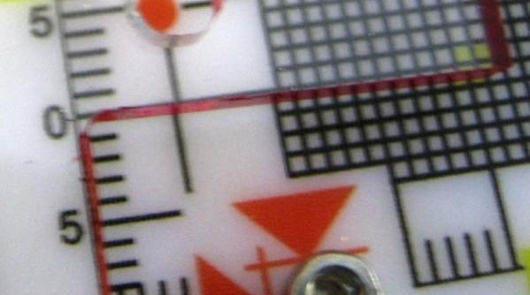 Маяк ЗИ-3д - реперная точка и шкала