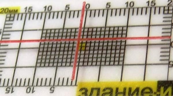 Маяк ЗИ-2.1 - шкала