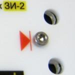 Металлическая реперная точка на маяке ЗИ-2 для точных измерений