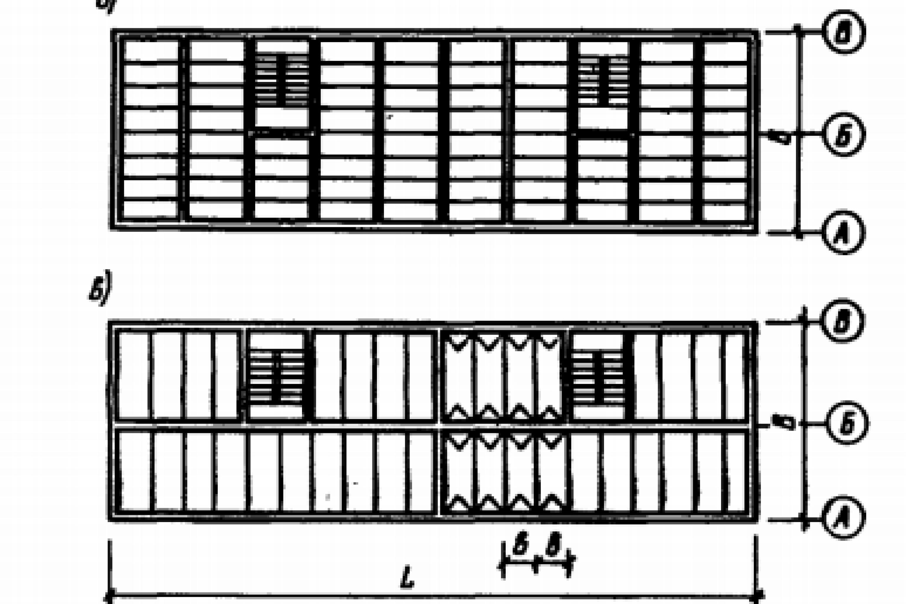 Схема работы здания с трещинами