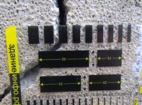Видео: Измерение ширины раскрытия трещины шаблоном