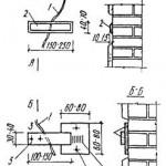 Наблюдение за трещинами при помощи гипсового маяка 6