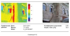 Тепловизионная съемка при контроле технического состояния зданий