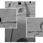 Старые гипсовые / растворные маяки