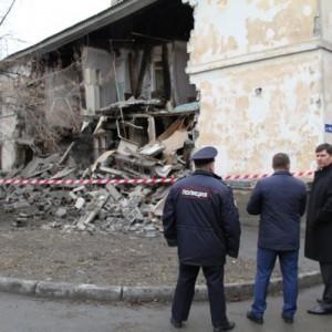 Обрушение жилого дома в Тюмени на Индустриальной, 38 10.04.2015 г.