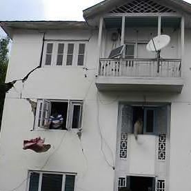 Трещины землетрясение 3