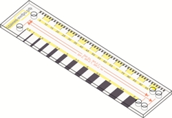 Разметочный шаблон-линейка 2017 250