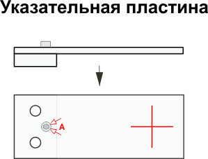 маяк зи-2.3 указательная пластина