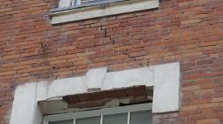 Выявление трещин в зданиях
