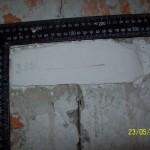 Наблюдение за трещинами при помощи гипсового маяка 3